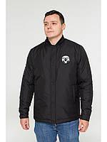 Мужская зимняя куртка бомбер Riccardo NY Черный