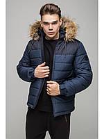 Мужская зимняя куртка Riccardo Short Premium Синий