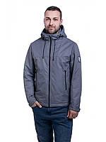 Мужская куртка ветровка Riccardo Z1/2 Серый
