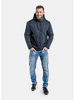 Мужская куртка ветровка Riccardo Z1 Синий