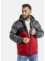 Мужская куртка ветровка Riccardo S3-2019 Красный