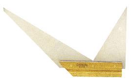 Угольник профессиональный двойной (углы 45, 60 90град)  STANLEY 1-46-169
