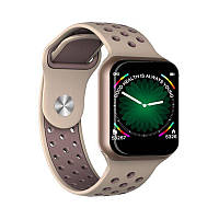 Умные часы-браслет Smart Watch F8 Black-gold