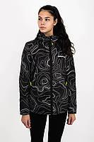 Куртка женская AW3 BLK/MAP Urban Planet XL 100% полиэстер Черный UP 2-1-2-12
