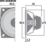 Monacor SPH-30X/8SW, фото 4