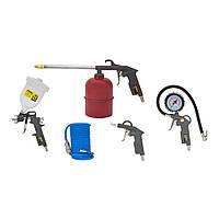 Набор пневмоинструментов для компрессора 5шт с в/б sigma 6791021
