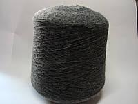 Пряжа темно-серого цвета, 100 % акрил