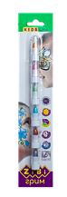 Олівці для гриму обличчя та тіла МЕТАЛІК ПОЗИТИВ, 6 кольорів металік, 22 г 9609909000