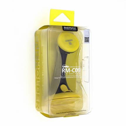 Автомобільний тримач Car Holder RM-C09 Black Yellow Remax 111401, фото 2