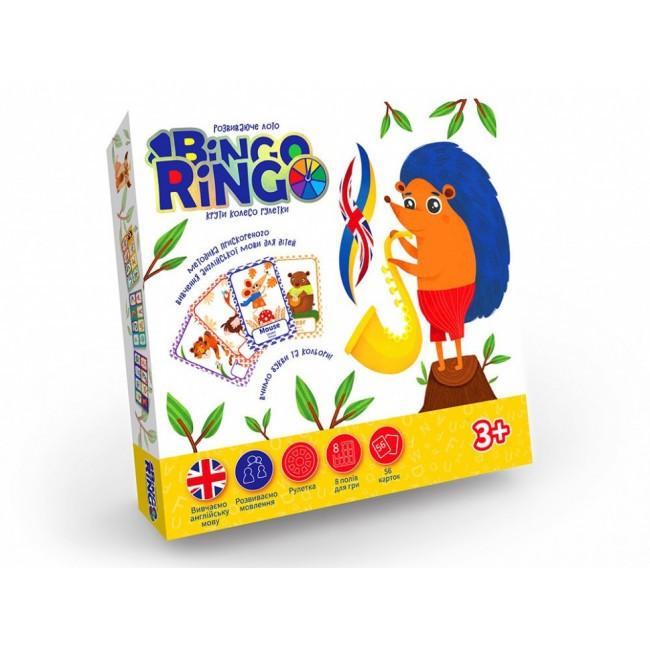 """Настольная игра """"Bingo Ringo"""" укр/англ GBR-01-02EU"""