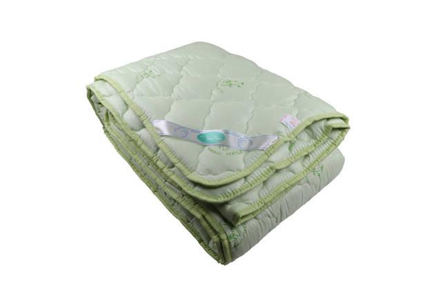 Одеяло закрытое однотонное бамбуковое волокно (Микрофибра) Двуспальное Евро T-55039, фото 2