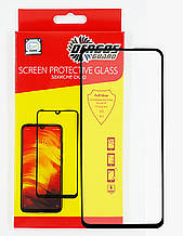 Захисне скло DENGOS Full Glue для Samsung Galaxy A51 (black)