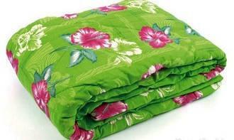 Одеяло закрытое овечья шерсть (Бязь) Полуторное T-51009, фото 2