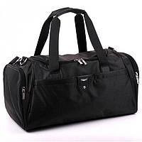 Удобная небольшая дорожная сумка из качественной ткани Dolly арт. 787Black