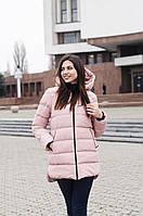 Куртка женская зимняя Monica (пудра)