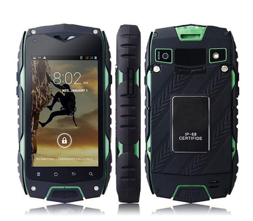 Смартфон Jeep Z6, ip68, Android 4.2, камера 8 Мп, акумулятор 2500mah