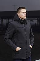 Куртка Парка зимняя мужская CS 1.6 (черная)