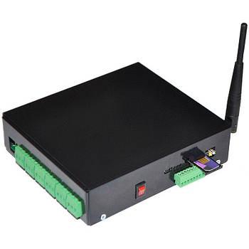 Розумна GSM розетка Elgato 6 каналів універсальна Чорна