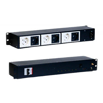 Умная GSM розетка Elgato 6 каналов стандартная Черная