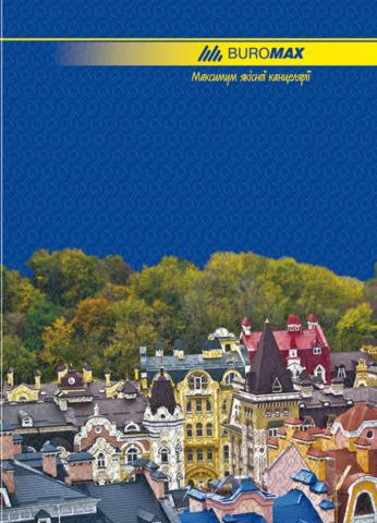 Книга канцелярська 96 арк лін.,оф.(тб. лам. обл), А4 4820