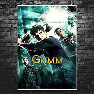 """Постер """"Grimm, Гримм"""", сериал, плакат №3. Размер 60x42см (A2). Глянцевая бумага"""