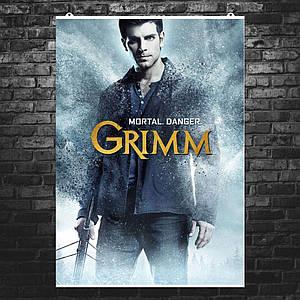 """Постер """"Grimm, Гримм"""", сериал, плакат №4. Размер 60x42см (A2). Глянцевая бумага"""