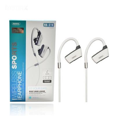 Вакуумні навушники Bluetooth Wireless Sports Remax RB-S19-White
