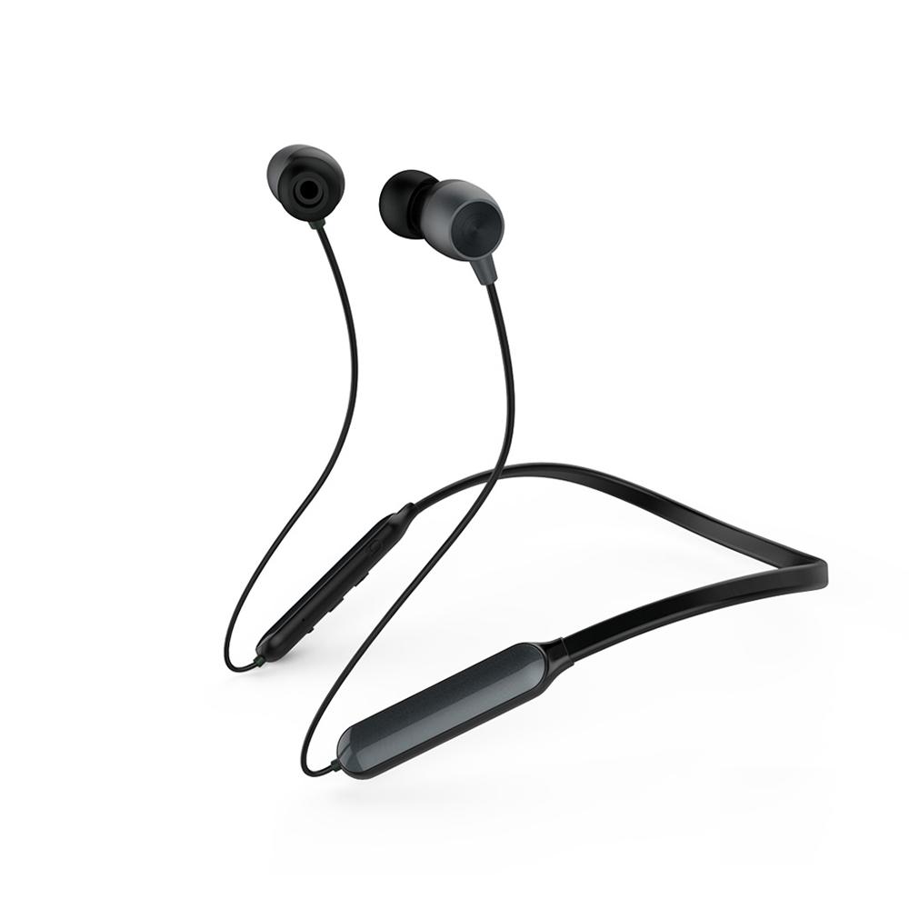 Вакуумные наушники Bluetooth Neckband Remax RB-S17-Dark-Grey