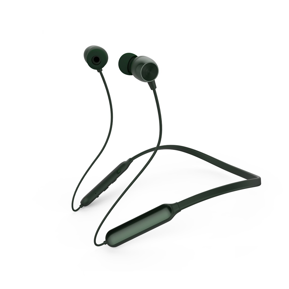Вакуумные наушники Bluetooth Neckband Remax RB-S17-Dark-Green