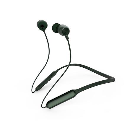 Вакуумные наушники Bluetooth Neckband Remax RB-S17-Dark-Green, фото 2