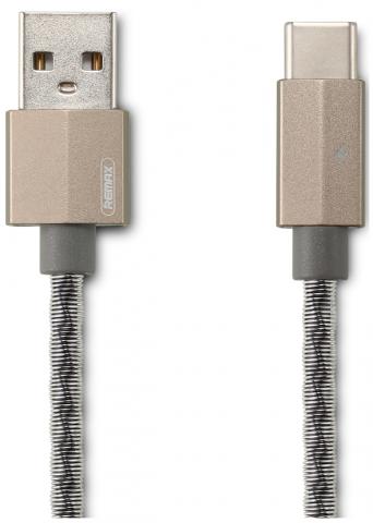 Type-C кабель 1 м Gefon Remax RC-110a-Grey