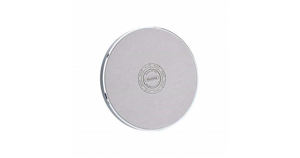 Бездротове зарядний пристрій Round Wireless Remax RP-W5-Gray