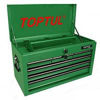 Ящик для инструмента TOPTUL 6 секций  660x307x378 мм TBAA0601