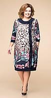 Сукня Romanovich-1-1250 білоруський трикотаж, лілії, 60