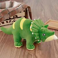 Мягкая игрушка Triceratops, зеленый, 53см Berni