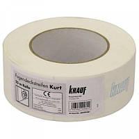 Лента бумажная для швов ГКЛ 75м KNAUF