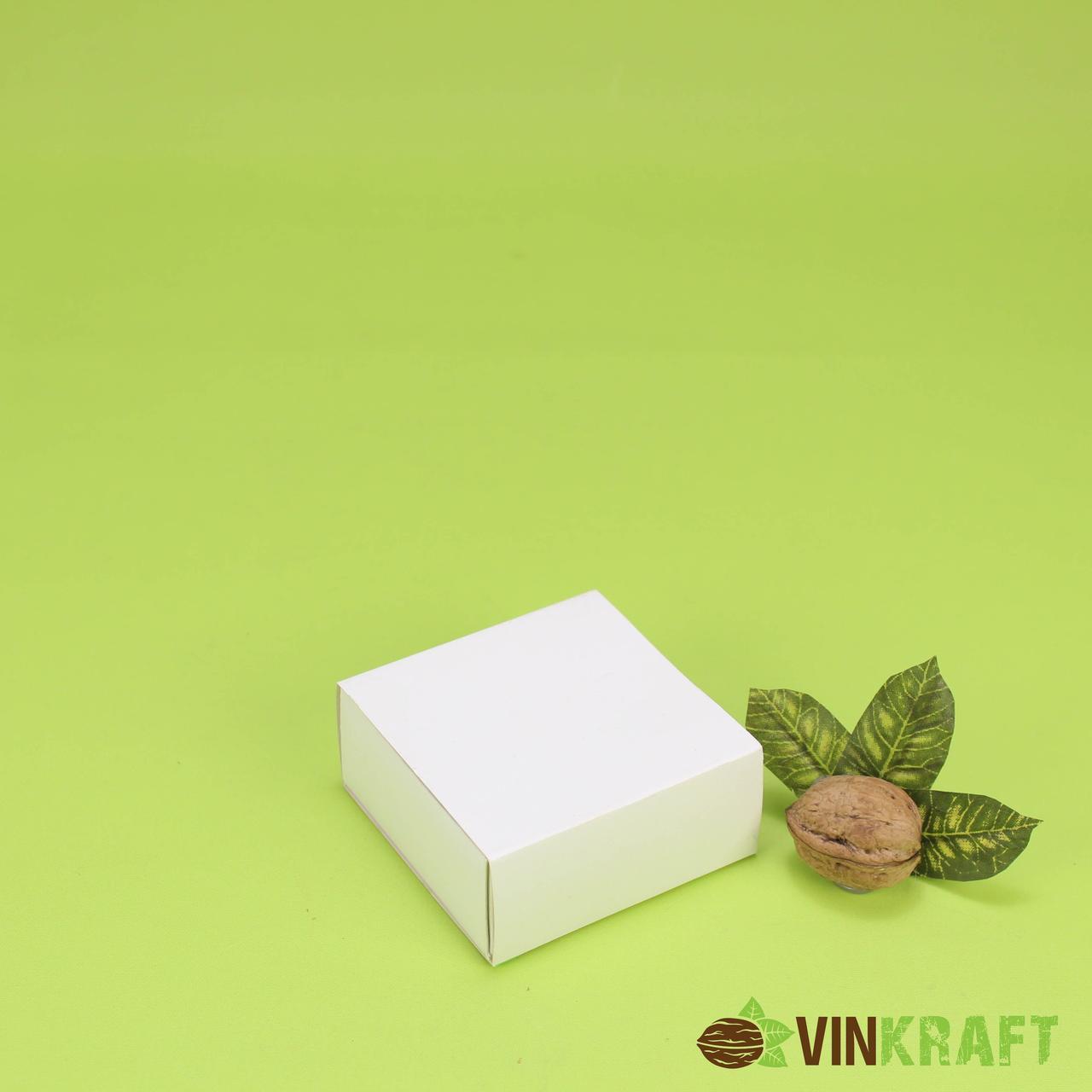Коробка 80*80*35 для пряника, біла