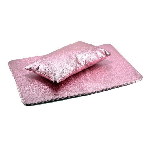 Подставка-подушка с подложкой для рук (блеск)