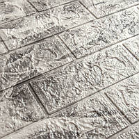 3д панель стеновой декоративный Мрамор кирпич (самоклеющиеся 3d панели для стен оригинал) 700x770x5 мм