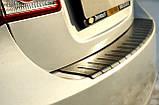 Пластиковая защитная накладка на задний бампер для Chevrolet Cruze седан 2009-2015, фото 4