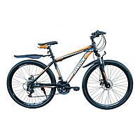 Спортивный велосипед SPARK SHARP 27.5 дюймов (17 и 19 рама) для взрослых. БЕСПЛАТНАЯ ДОСТАВКА. Оранжевый.
