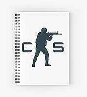 Блокнот Counter Strike 1