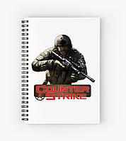Блокнот Counter Strike 2