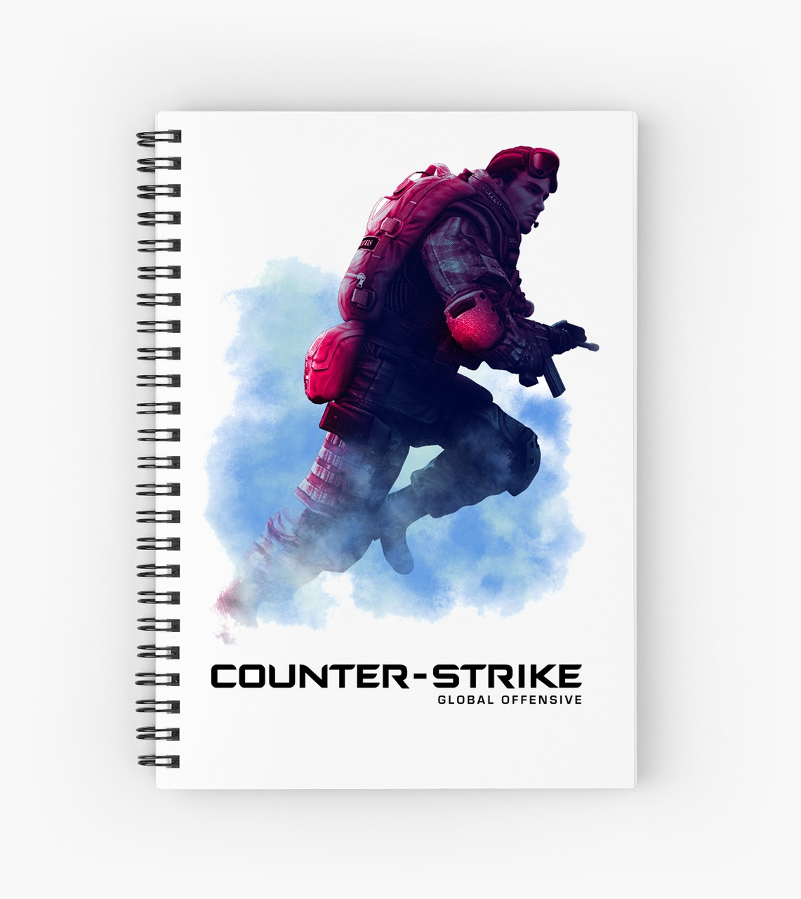 Блокнот Counter Strike 4