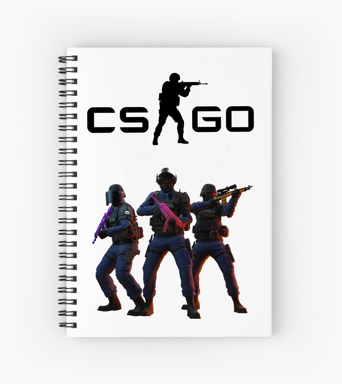 Блокнот Counter Strike 5