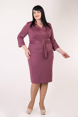Платье в деловом стиле 50-56 р-р, фото 2