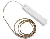 Светодиодная/Led лента с PIR датчиком движения 5V 4xAAA 1 метр теплый свет, фото 2