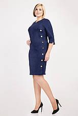 Замшевое женское платье, фото 2