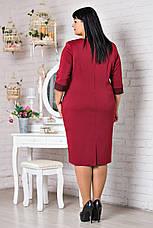 Классическое платье украшенное стразами на карманах, фото 3