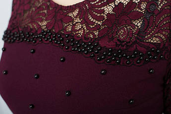 Праздничное платье украшенное бусинами, фото 2